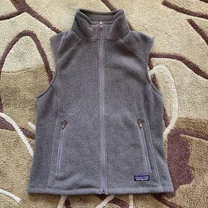 BNWT Patagonia Fleece Gray Vest